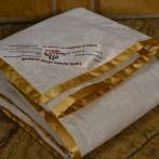 Plona alpakų vilnos antklodė kūdikiui (100X140cm)