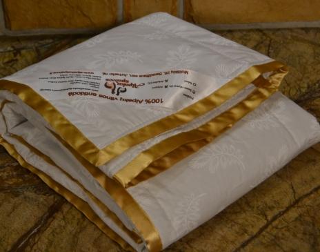 Plona kūdikio antklodė 100X140cm (100% alpakos vilna)