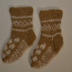 """Alpakos vilnos kojinytės """"Širdelės"""""""