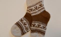 Storos  kojinės (100% alpakos vilna)