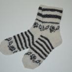 Plonos kojinės iš alpakos vilnos