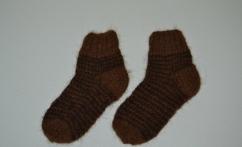 """Alpakos vilnos kojinytės """"Dryžiukai"""""""