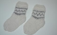 """""""Baby"""" alpakos vilnos kojinytės"""