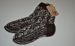 Moteriškos kojinės iš alpakos vilnos