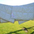 Stora vaikiška antklodė 100X140cm (100% alpakos vilna)