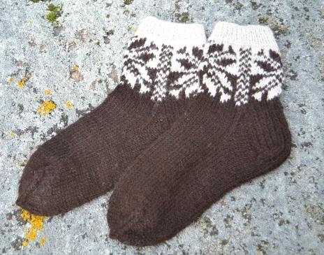 Storos alpakos vilnos kojinės