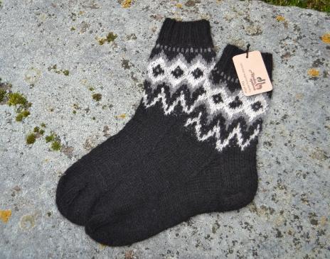 Vyriškos kojinės iš alpakos vilnos
