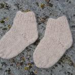 Storos kojinytės iš alpakos vilnos