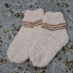 Vaikiškos alpakos vilnos kojinytės