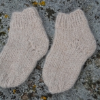 Storos alpakos vilnos kojinytės