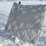 Vaikiška antklodė 100X140cm (100% alpakos vilna)