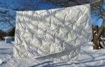 NAUJIENA! Alpakos vilnos antklodė 160X200cm