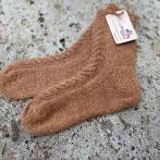 Alpakos vilnos kojinės su pynėmis