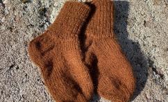 Alpakų vilnos kojinytės