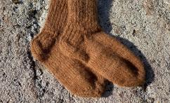 Alpakos vilnos kojinytės