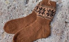 Ilgos alpakos vilnos kojinės